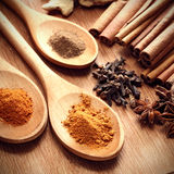 Sauce ingredient on wood table Stock Photo
