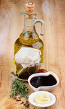 Sauce Ingredients Royalty Free Stock Photography