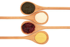 Sauce and Jelly Selection Stock Photography