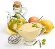 Sauce mayonnaise Stock Image