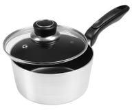 Sauce pan. Isolated Stock Photos
