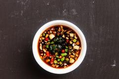 Sauce in pot Royalty Free Stock Photos
