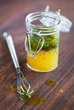Sauce salade Photos libres de droits