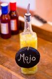 Sauce secrète à BBQ de Mojo Photographie stock libre de droits
