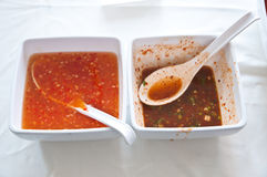 Sauce for Thai grilled chicken Royalty Free Stock Photo