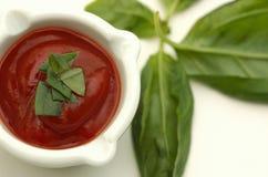 Sauce tomate Images libres de droits
