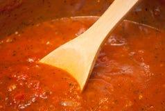 Sauce tomate photos libres de droits