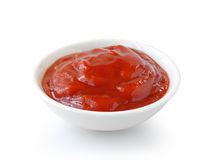 Sauce tomate faite maison Photographie stock