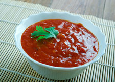 Sauce tomate koweitienne Images stock