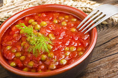 Sauce of tomatoes Stock Photography