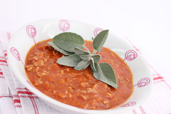 Sauce of tomatoes and meat Stock Photo