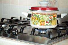 Saucepan. Stock Images