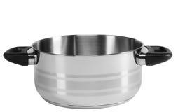 Saucepan. Isolated Stock Image