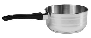 Saucepan. Isolated royalty free stock photography