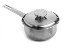 Saucepan metal Stock Images