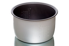 Saucepan for pressure-cooker Royalty Free Stock Photos