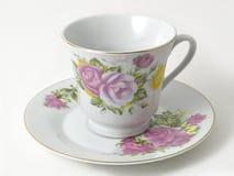 saucer för kaffekopp Royaltyfri Fotografi