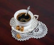 saucer för kaffekopp Royaltyfri Bild
