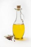Sauces à huile d'olive et nourriture de pâtes… Image stock