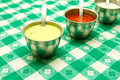 Sauces Royalty Free Stock Photography