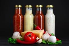 Sauces Royalty Free Stock Photos