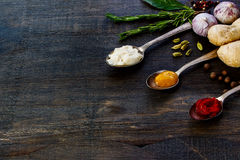 Sauces Royalty Free Stock Photo