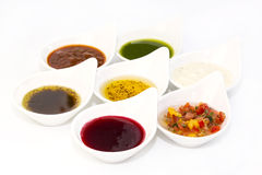 Sauces Stock Photography