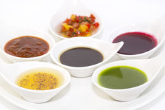 Sauces Royalty Free Stock Image