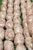 Saucisse aigre de ferment thaïlandais Photographie stock libre de droits