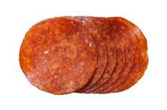 Saucisse avec le poivre. Images stock