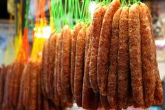 Saucisse chinoise Photos libres de droits