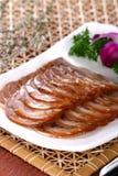 saucisse délicieuse froide chinoise de nourriture de paraboloïde Image stock