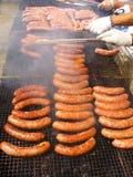 Saucisse de BBQ Images stock