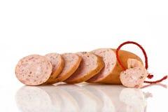 saucisse de hot dog photographie stock