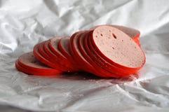 Saucisse de jambon photo libre de droits
