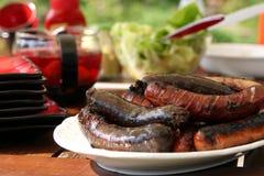 Saucisse grillée Images stock