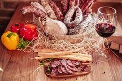 Saucisse italienne Image libre de droits