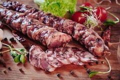 Saucisse italienne Photo libre de droits