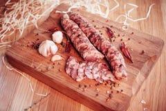 Saucisse italienne Photos libres de droits
