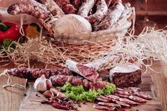 Saucisse italienne Images stock