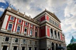 Saucisse Musikverein à Vienne Autriche photographie stock