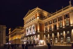 Saucisse Musikverein (association de musique), Vienne Photo stock