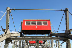 Saucisse Riesenrad (roue géante de Vienne Ferris) Photo stock