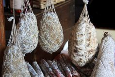 saucisse sèche photo stock