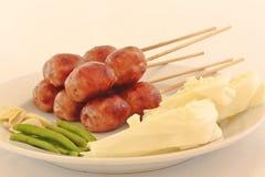 Saucisse thaïlandaise Images stock