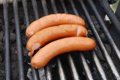 Saucisses de gril Image libre de droits