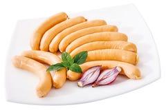 Saucisses fraîches Image libre de droits