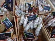 Saucisses françaises Image stock