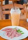 Saucisses thaïes Images libres de droits