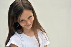 Saucy teenager girl Stock Photo